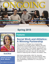 School of Social Work - Ongoing Magazine