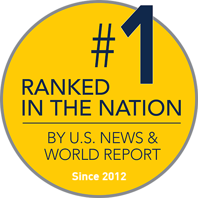 #1 Ranked School of Social Work