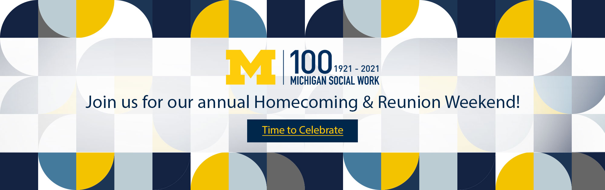 Join us for our annual Homecoming & Reunion Weekend!