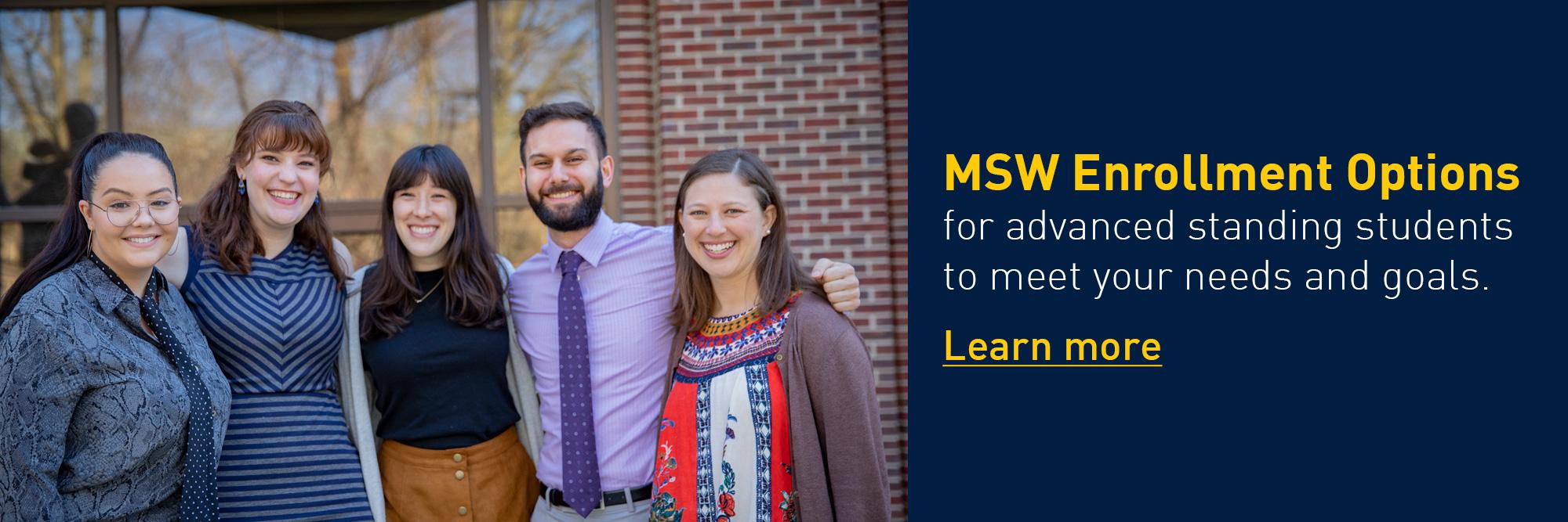 MSW Enrollment Options