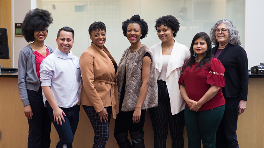 Group photo of the Office of Diversity Equity and Inclusion