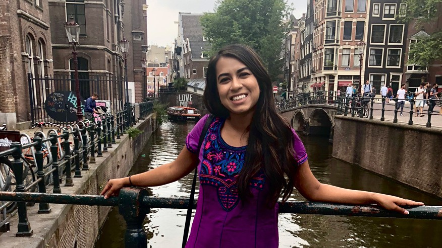Amsterdam is such an unique city! It is absolutely gorgeous and incredibly diverse. My AirBnb is located outside of the city center in an immigrant community and I've been eating the most delicious food (Ghanian, Vietnamese, and of course-Indian).