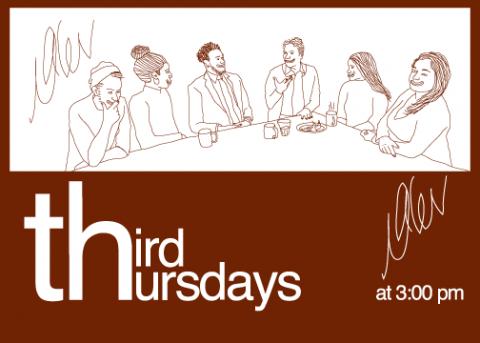 Third Thursdays at 3:00pm