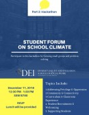 Student Forum on School Climate: Part 2