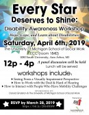 """Every Star Deserves to Shine: Disability Awareness Workshop"""