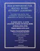 2019 Student Learning Symposium