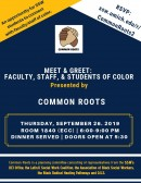 Meet & Greet - Faculty, Staff & Students of Color