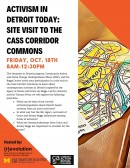 Activism in Detroit Today: Site Visit to the Cass Corridor Commons