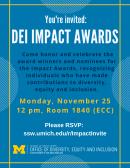 DEI Impact Awards Ceremony