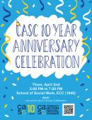 CASC 10 Year Anniversary Celebration