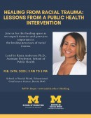 Healing from Racial Trauma: Lessons from a Public Health Intervention