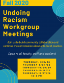 Undoing Racism Workgroup Meeting