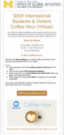 OGA - International Coffee Hour
