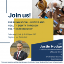 Pursuing Social Justice And Health Equity Through Politics Workshop
