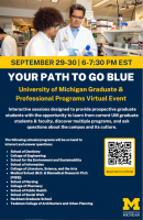 School of Social Work at the University of Michigan Graduate and Professional Programs Virtual Event