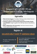 """""""The Impact of COVID-19 on Substance Use in Michigan"""" Town Hall"""
