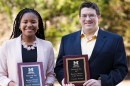 Janelle Goodwill (PhD Student) and Vincent Fusaro (PhD Student) Receive Research Day Doctoral Poster Award